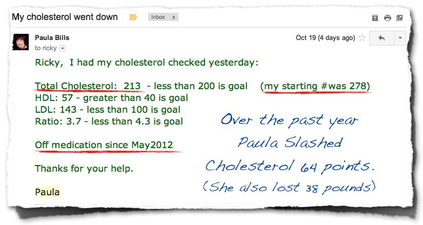 Paula Cholesterol